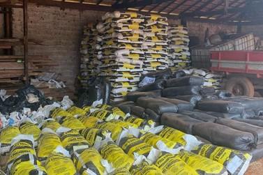 Estelionato: Polícia apreende 20 toneladas de ração em S. A. da Platina
