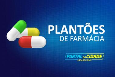 Farmácia de Plantão nesta semana em Jacarezinho