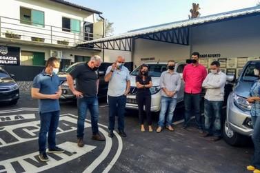 Polícia Civil de Jacarezinho e região recebem viaturas