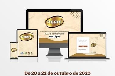 Ficafé 2020 começa nesta semana com edição inteiramente virtual