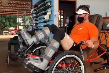 Cadeirante defende o Brasil em olimpíada biônica