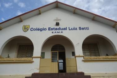 Ensino Médio gratuito para formação de docentes no Colégio Estadual Luiz Setti