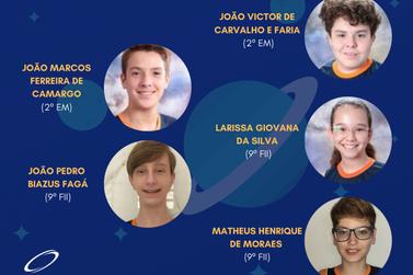 Elo classifica 5 alunos para seletiva internacional das Olimpíadas de Astronomia
