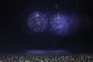 Litoral do Paraná cancela queima de fogos na passagem para Ano Novo