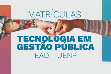 UENP divulga edital de matrícula do Curso de Tecnologia em Gestão Pública