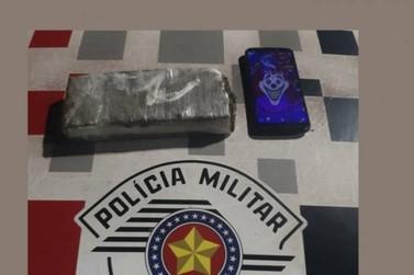 Vendedor é preso por tráfico de drogas em Ourinhos com 466g de maconha