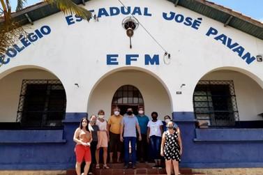 Colégio Estadual José Pavan dá início às atividades como Colégio Cívico-Militar