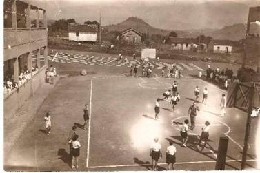 Inauguração do Colégio Estadual Rui Barbosa em Jacarezinho no ano de 1938