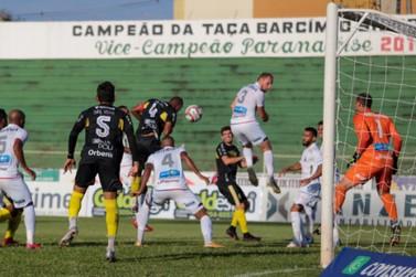 Paraná Clube joga pouco, perde em Toledo e Cascavel assume a liderança isolada