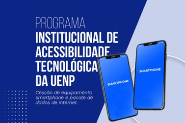 Alunos da UENP podem se inscrever para uso de smartphone e pacote de dados