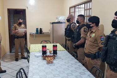 Policiais Militares são homenageados em Santo Antônio da Platina