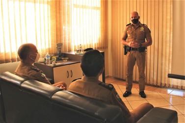 Comandante-Geral da PM visita unidades da Polícia Militar do Norte Pioneiro