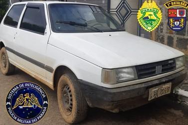 Homem de 38 anos é detido suspeito de furtar carro em Ibaiti