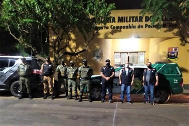 Polícia Militar intensifica fiscalização no combate à pandemia no Norte Pioneiro