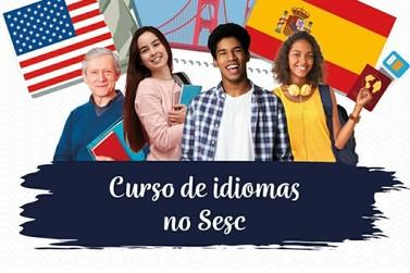 Venha estudar Inglês Gratuitamente no Sesc de Jacarezinho PR