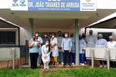 Jacarezinho tem mais de 44 mil vacinas contra gripe e covid-19 aplicadas