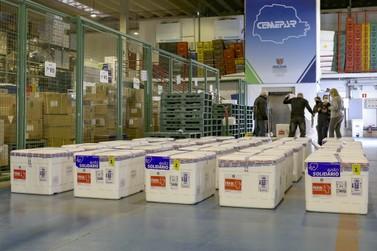 Paraná receberá 649.420 doses de vacinas contra Covid-19 nesta semana