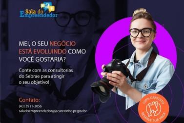 Sebrae Jacarezinho oferece consultoria gratuita para MEI e ME