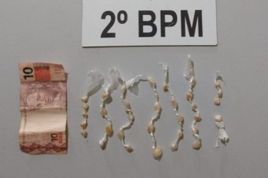 Suspeito de tráfico de drogas é preso em Jacarezinho