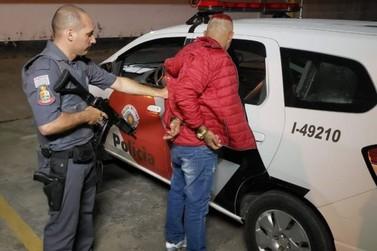Suspeito de tráfico de drogas é preso pela PM