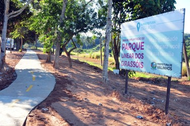 Prefeitura inaugura Parque dos Girassóis com festa e atrações