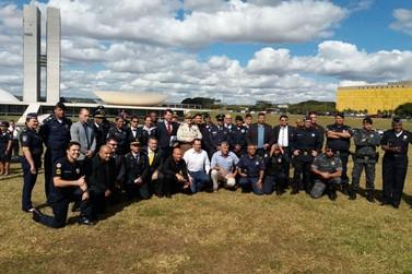 Segurança Municipal de Jundiaí participa de encontro em Brasília