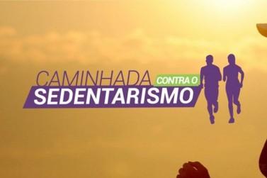 A próxima edição da Caminhada contra o Sedentarismo será no domingo (25)