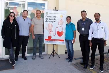 Câmara incentiva doação de sangue na cidade