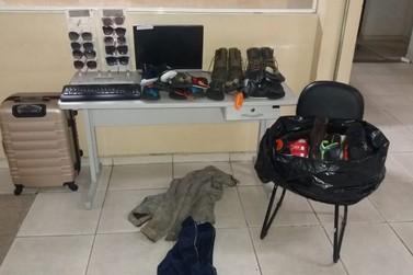 Dois são presos por furtos no Santo Antônio