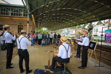 Estação Ferroviária recebe Cultura nos Trilhos e Feira Solidária amanhã (17)