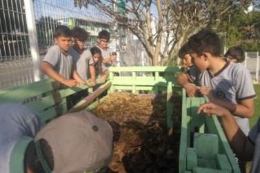 Início a mais um projeto de educação ambiental no município