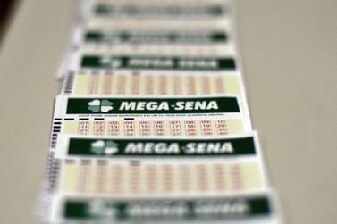 Apostador ganha sozinho prêmio da Mega Sena
