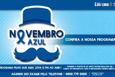 Prefeitura realiza programação especial do Novembro Azul