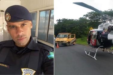Guarda Municipal morre em acidente de trânsito em Jundiaí nesta tarde 27/12