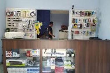 Loja do Burck  MV Print é assaltada