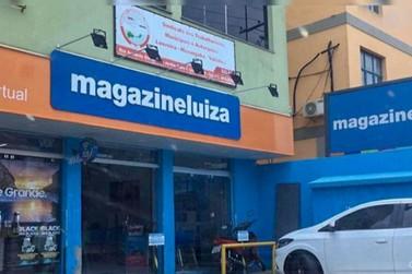 MaganizeLuiza  de Louveira foi assaltado nesta segunda 23/12