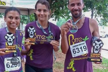 Atletas da equipe 'Corre Mais LOUVEIRA' obtêm bons resultados em Indaiatuba