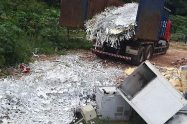Dono de depósito preso por comprar metal furtado