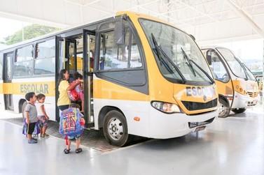 Mais de 5.800 alunos voltam às aulas com transporte gratuito!