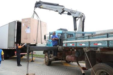 Tomógrafo computadorizado chega ao novo Centro de Diagnóstico por Imagem