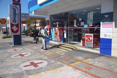 Vigilância Sanitária realiza desinfecção em vários pontos da cidade