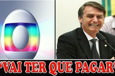 Bolsonaro vai suspender a concessão da TV Globo em 21 de abril de 2020