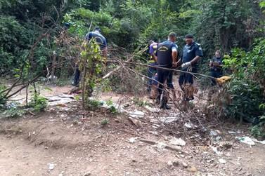 Guarda Municipal de Louveira realização ação preventiva no bairro Terra da Uva.