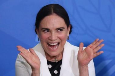 Regina Duarte deixa a secretaria da Cultura da Brasil
