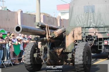 Confira desfile militar virtual de Louveira em homenagem ao 7 de Setembro