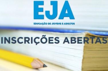 Educação de Jovens e Adultos (EJA) está com matrículas abertas