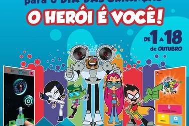 No Mês das Crianças, Maxi Shopping Jundiaí traz  aventura virtual