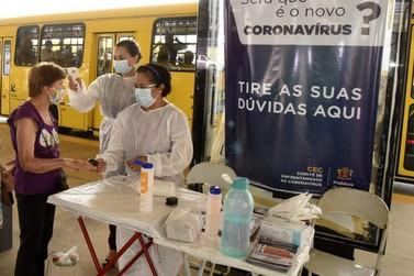 'Ação Saúde nos Terminais' alcança 5.500 passageiros