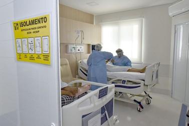 Com retração da covid-19, Hospital São Vicente faz nova readequação de leitos