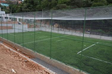 Construção do Complexo Esportivo Terra da Uva garante mais diversão e lazer